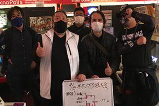 ネオジオ3種(餓狼3/RB餓狼/侍魂零SP) 4月大会